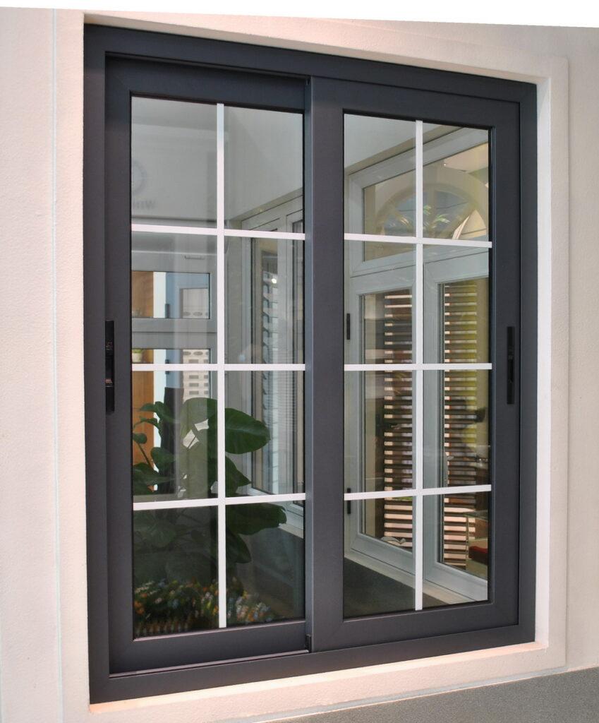 Алюминиевые раздвижные окна, двери, перегородки, лоджии, стеклопакеты с раскладкой